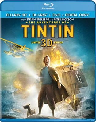 ADVENTURES OF TINTIN 3D BY BELL,JAMIE (Blu-Ray)